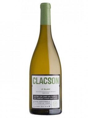 Clacson Blanc